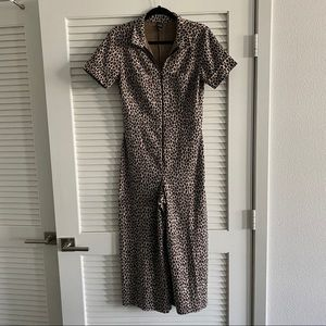 Leopard Wild Fable jumpsuit, size small